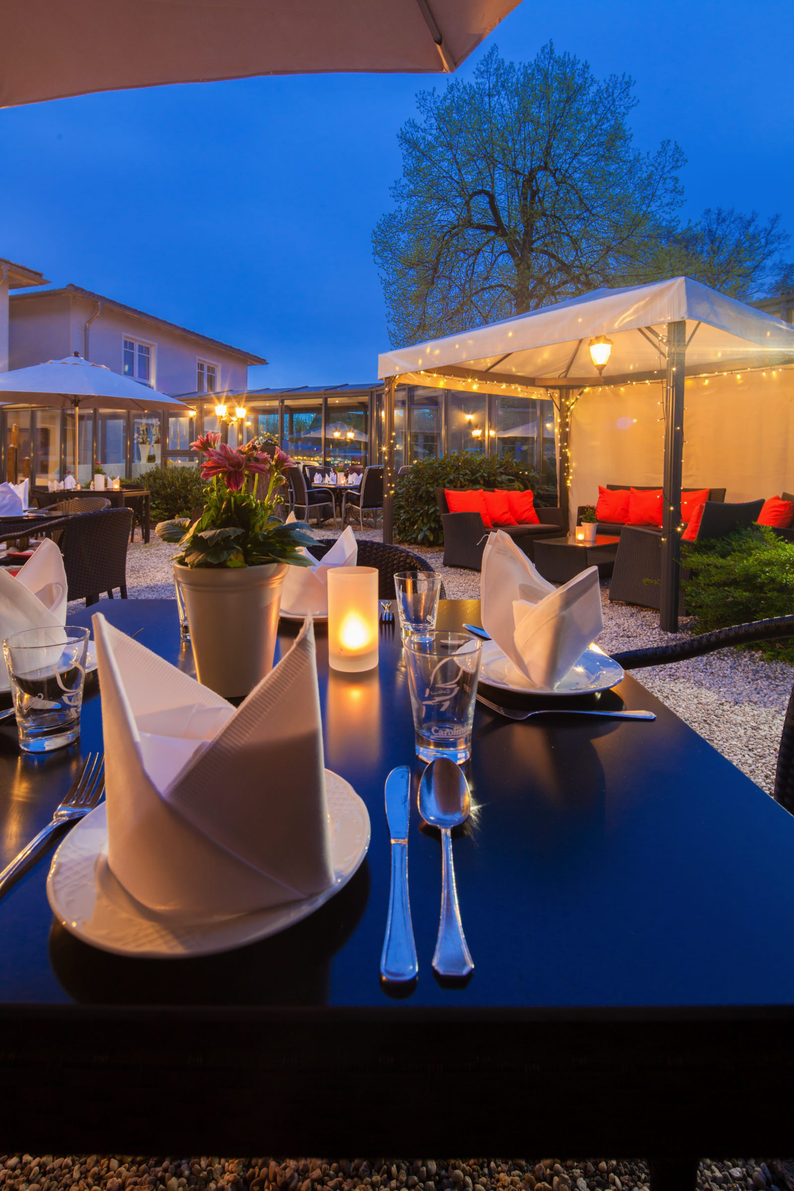 Sommergarten   Parkhotel Bielefeld   Restaurant MilserKrug